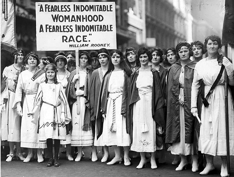 Feminizmin tarixi və inkişafı