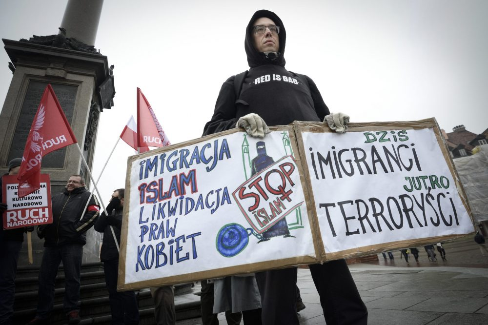 National Radical Demonstrate Against Immigration