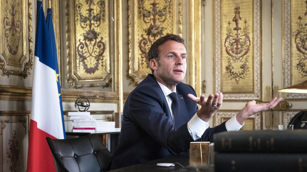 Emmanuel Macron FT