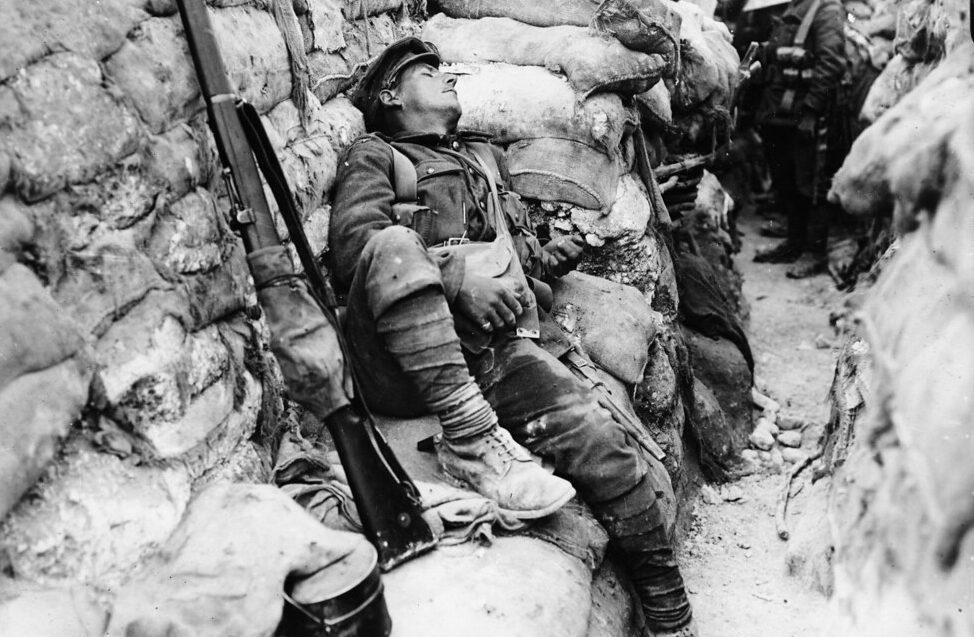 world-war-1-solider-sleeping