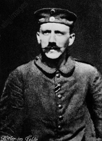 Adolf Hitler / Foto 1914 - Adolf Hitler / Photo / 1914 - Adolf Hitler / Photo 1914