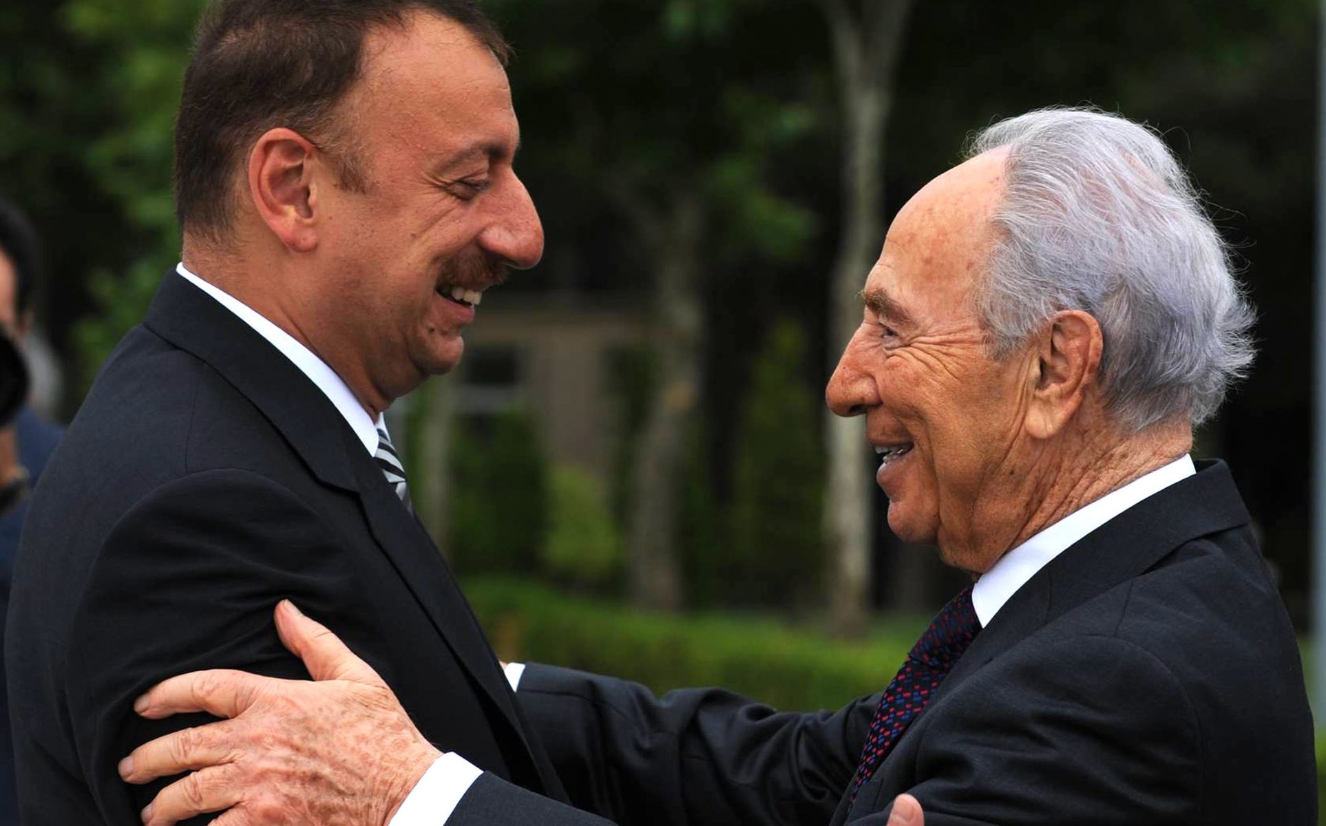 Israeli President Peres Visits Azerbaijan